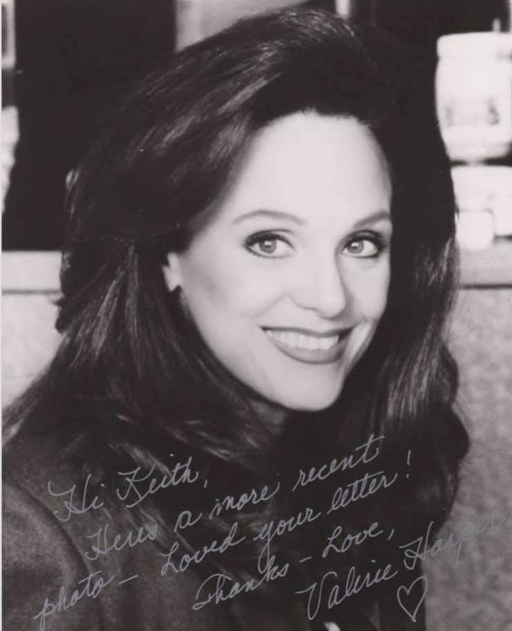 Name:  Valerie Harper - Pretty lady & pretty handwriting.jpg