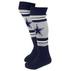 Name:  Dallas_Cowboys_NFL_Womens_Ladies_Plush_Knit_Knee_High_Boot_Slippers_large.jpg Views: 466 Size:  5.8 KB
