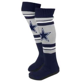 Name:  Dallas_Cowboys_NFL_Womens_Ladies_Plush_Knit_Knee_High_Boot_Slippers_large.jpg Views: 349 Size:  5.8 KB