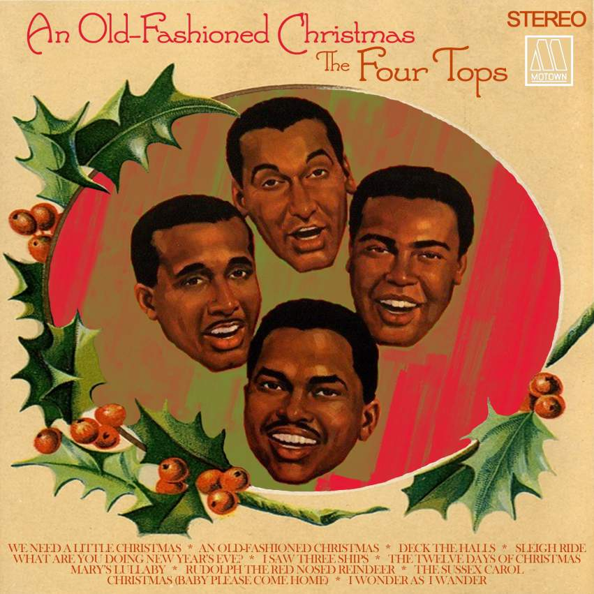 Name:  Four Tops Old Fashioned Christmas.jpg